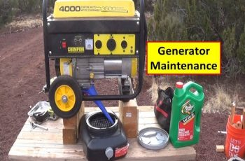 Generator Oil Change and Maintenance Tips