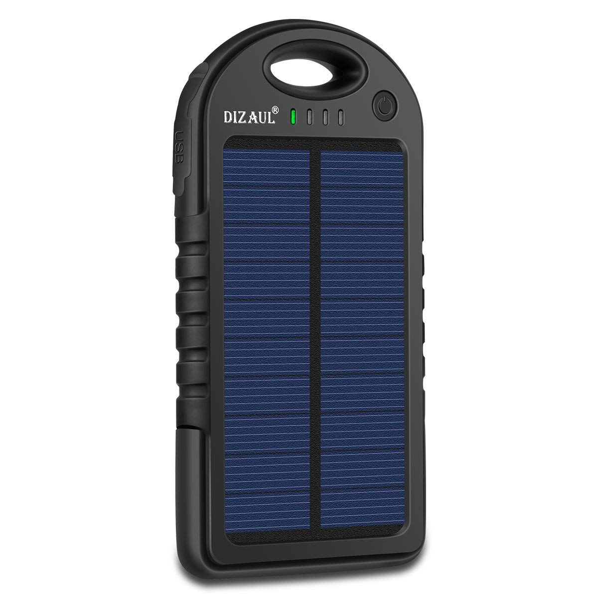 Dizaul-5000mAh-Portable-Solar-Power-Bank