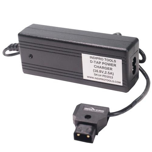 IndiPRO-D-Tap-Pro-Battery-Charger-for-V-Mount-AB-Mount-or-PD-Style-Batteries
