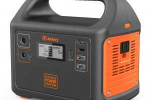 Jackery Portable Power Station Generator Explorer 160 167Wh Solar Generator Lithium Battery Backup Power Supply with 110V 100W