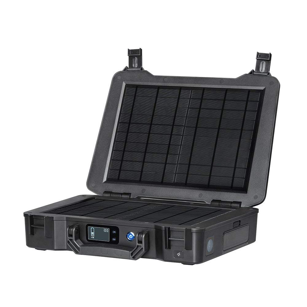 Renogy-Phoenix-210Wh-150W-Portable-Generator-All-in-one-Solar-Kit-for-Outdoors-Camping-Travel-Emergency-Off-grid-Applications-with-20W-Built-in-Solar-Panel