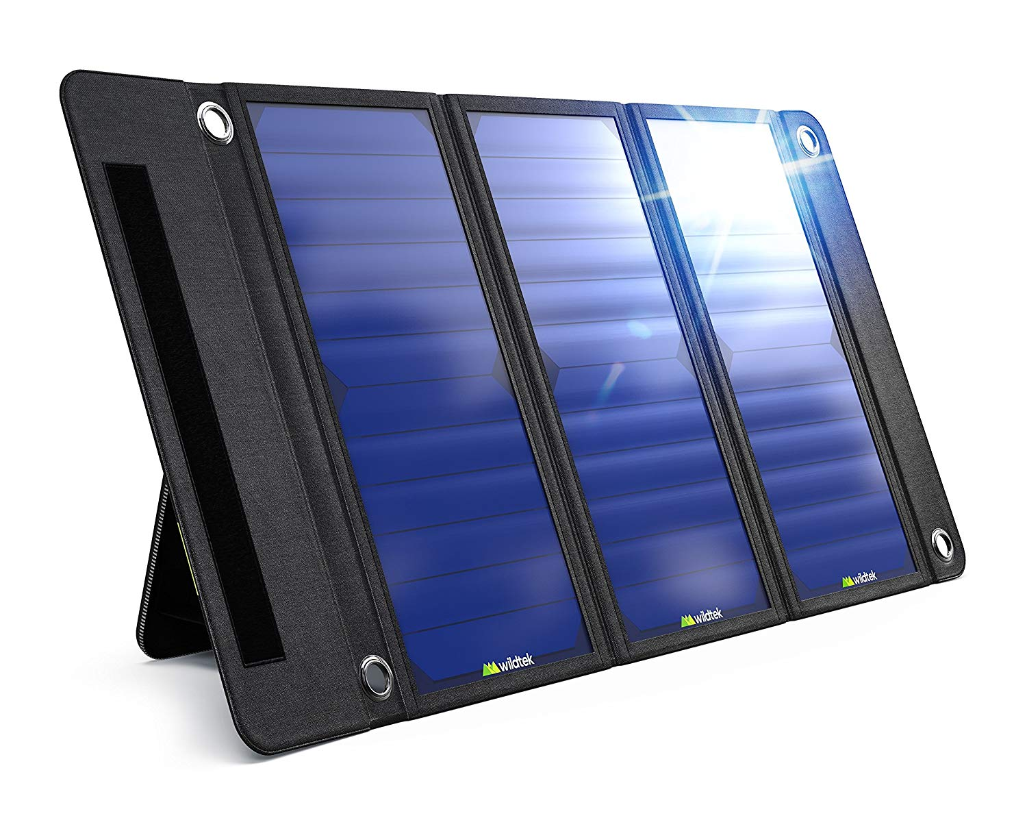 Wildtek-SOURCE-21W-Waterproof-Portable-Solar-Charger-Panel-with-Dual-USB-Ports